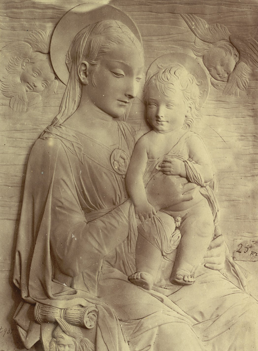 Virgin And Child, By Donatello